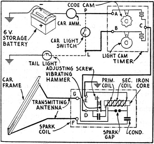 garage door opener timer circuit