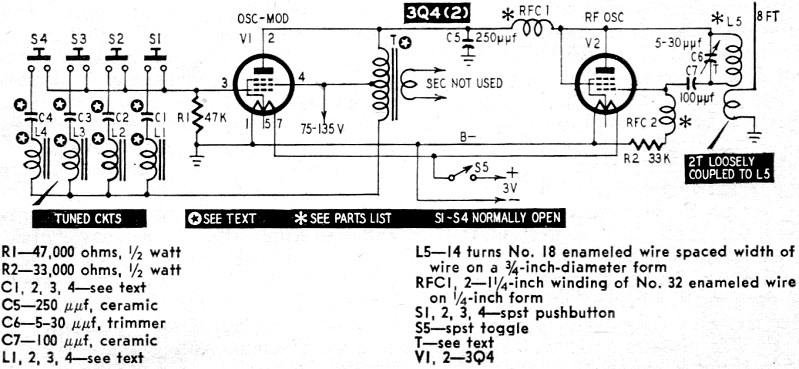tone modulator for r-c from april 1958 radio-electronics magazine