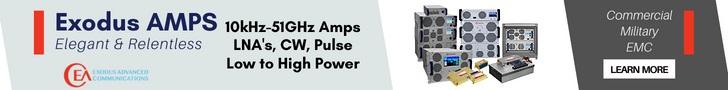 Exodus Advanced Communications Best in Class RF Amplifier SSPAs - RF Cafe