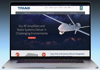 Triad Launches New Brand Identity and Website - RF Cafe